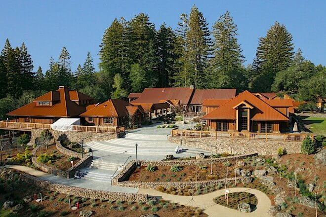 Foto vom Ratna Ling Retreat Center in Kalifornien, USA